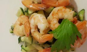 TRaiteur Marseille Dimitri Salade de Crevettes