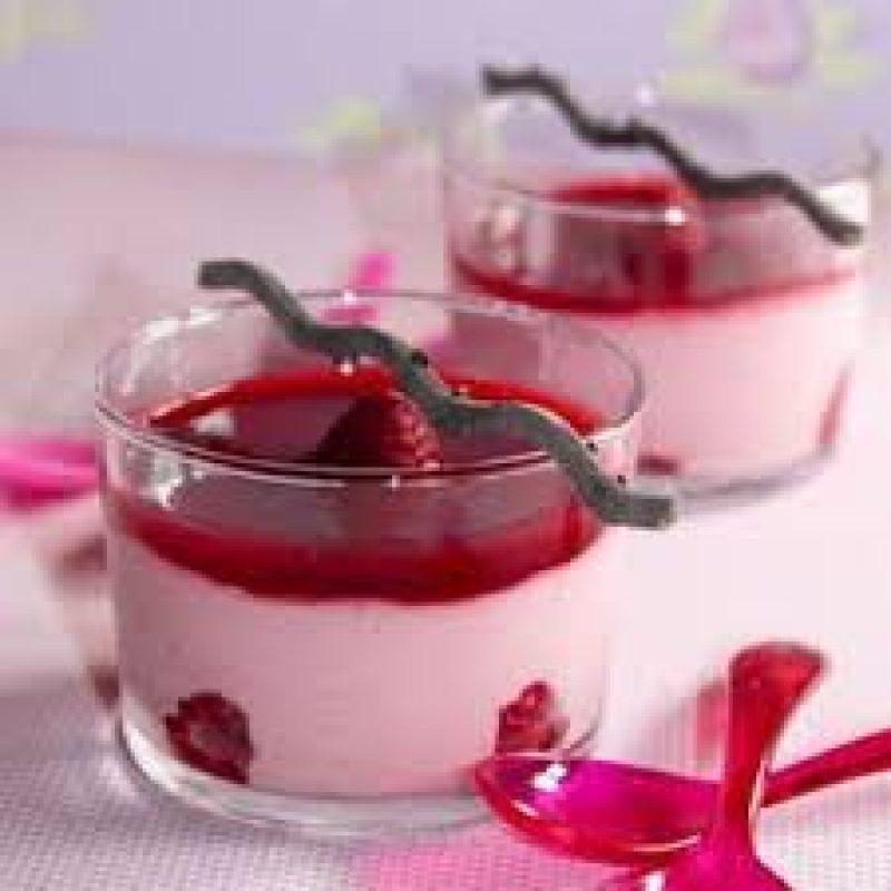 Dessert de framboise traiteur marseille Dimitri