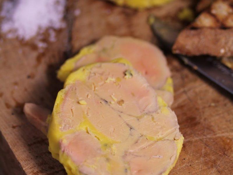 foie-gras-mi-cuit-maison-repas-noel traiteur dimitri