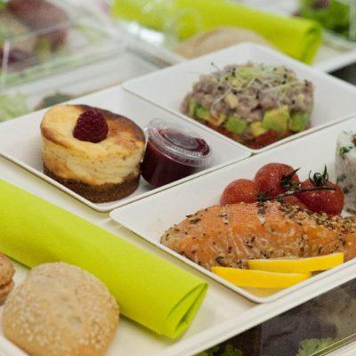 Plateaux Repas Des plateaux repas variés, tous types de menus, world food, européen, français, végétarien, sans gluten ...